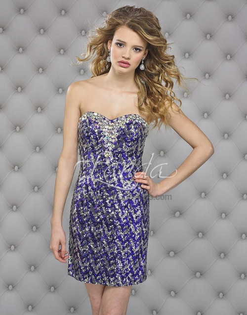 Landa Splash E 426 cocktail dress