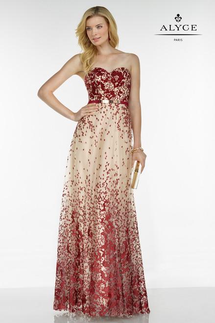 Alyce Paris 5775 Sweetheart Neckline Dress