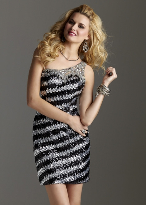 Clarisse Homecoming Cocktail Dress 2253