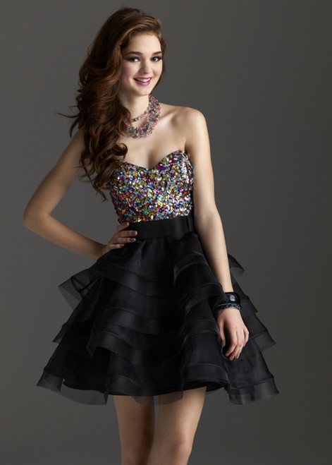 Clarisse Homecoming Cocktail Dress 2225