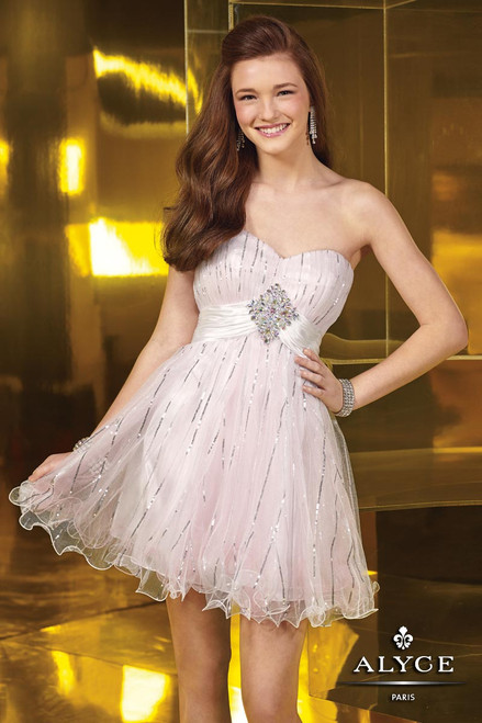 Alyce Sweet 16 Style 3550 cocktail dress
