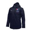 Nike Men's USAWR Team Down Filled Parka - Navy/White