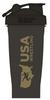 USAWR Blender Bottle - Black/Gold