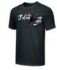 Nike Wrestling JDen Script  Cotton Tee - Black/White