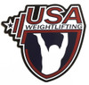 USAW 4.5 Inch Vinyl Sticker - Red/White/Blue