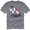 Nike Men's Wrestling Fargo You Go Cotton Tee - Grey