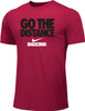 Nike Men's Boxing Go The Distance Cotton Tee - Red