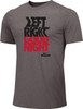 Nike Men's Boxing Left Right Goodnight Cotton Tee - Grey