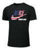 Nike Men's Wrestling Molinari Tee - Black