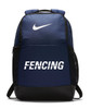 Nike Fencing Brasilia Backpack - Navy/White