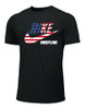 Nike Men's Wrestling Smith Tee - Black