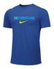 Nike Men's Wrestling Kazakhstan Flag Tee - Royal