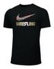 Nike Men's Wrestling Multi Flag Tee - Black