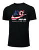Nike Men's Wrestling Kazakhstan Winchester Tee - Black