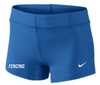 Nike Women's Fencing Performance Game Short - Royal