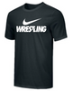 Nike Men's Wrestling Tee - Black