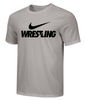 Nike Men's Wrestling Tee - Grey