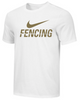 Nike Men's Fencing Tee - White/Gold