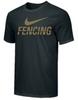 Nike Men's Fencing Tee - Black/Gold
