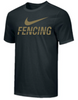 Nike Men's Fencing Tee - Black/Gold
