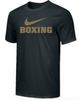 Nike Men's Boxing Tee - Black/Gold