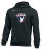 Nike Men's USAW Club Fleece Pullover Hoodie - Black
