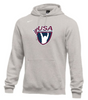 Nike Men's USAW Club Fleece Pullover Hoodie - Heather Grey