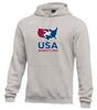 Nike Men's USAWR Club Fleece Pullover Hoodie - Heather Grey