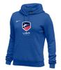 Nike Women's USAF Club Fleece Pullover Hoodie - Royal