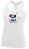 Nike Women's USAWR Balance Tank - White
