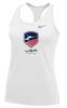 Nike Women's USAF Balance Tank - White