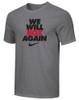 Nike Men's We Will Box Again Tee - Grey/Black
