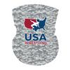 USAWR Neck Gaiter - White/Digi Camo