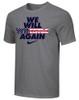 Nike Youth We Will Wrestle Again Tee - Dark Grey/Stars/Stripes
