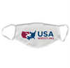 USA Wrestling Non-Medical Face Covering - White