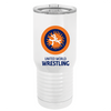 UWW Polar Camel Stainless Steel 20 oz Travel Mug - White/Orange/Blue