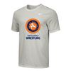 Nike Men's UWW Circle Logo Tee - Grey/Orange/Blue