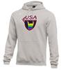 Nike Men's USAW Pride Fleece Pullover Hoodie - Heather Grey