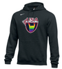 Nike Men's USAW Pride Fleece Pullover Hoodie - Black