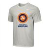 Nike Youth UWW Circle Logo Tee - Grey/Orange/Blue