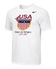 Nike Men's USAW Stars and Stripes Lift Off Tee - White