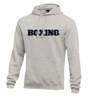 Nike Men's Boxing Club Fleece Hoodie - Grey/Black