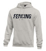 Nike Men's Fencing Club Fleece Hoodie - Grey/Black