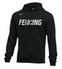 Nike Men's Fencing Club Fleece Hoodie - Black/White