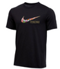 Nike Youth Fencing Multi Flag Tee - Black