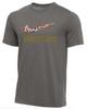 Nike Youth Wrestling Multi Flag Tee - Dark Grey Heather