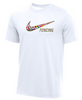 Nike Youth Fencing Multi Flag Tee - White