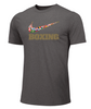 Nike Youth Boxing Multi Flag Tee - Dark Grey Heather