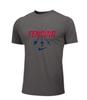 Nike Men's Fencing Swords Tee - Grey