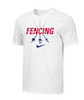 Nike Youth Fencing Swords Tee - White